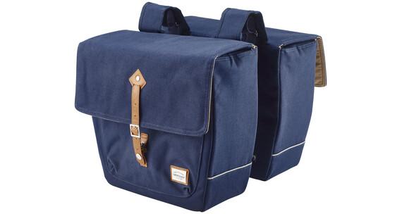 New Looxs Genova Double Doppelpacktasche blau